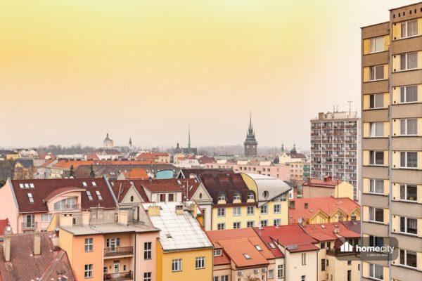Výhled na město Pardubice